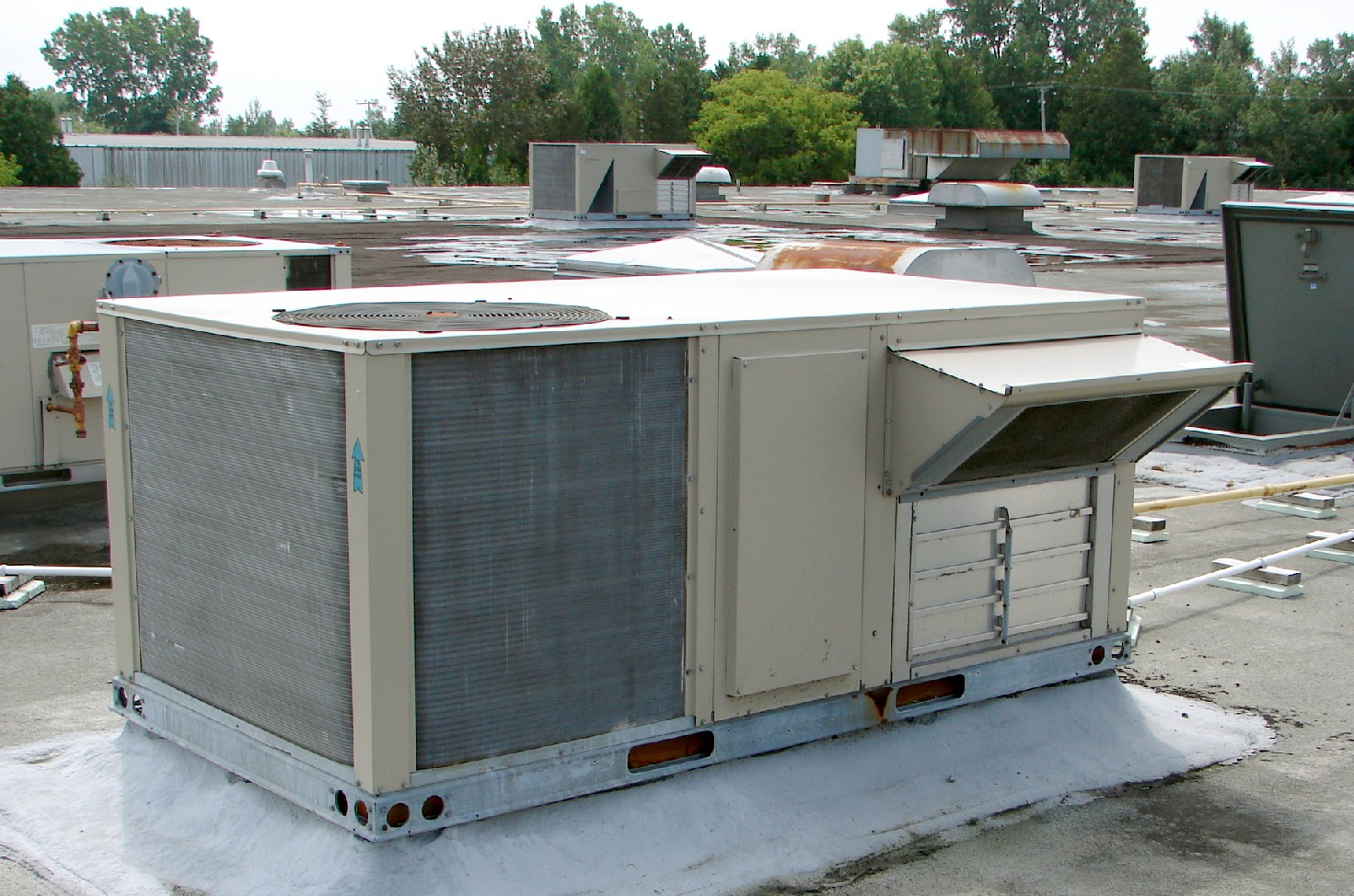 category one all things hvac type of air handling unit