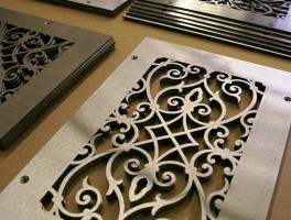 corinthian floor vent cover