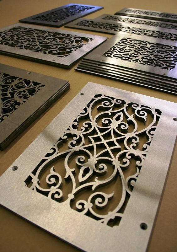 10 Amazing Decorative Floor Vent Covers To Keep Your House