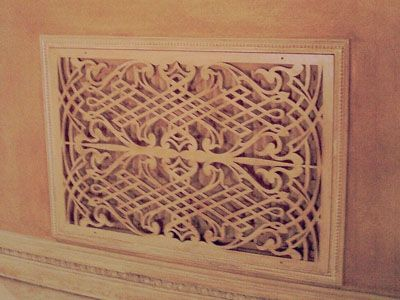 10 amazing decorative floor vent covers to keep your house stylish - Decorative wall vent ...
