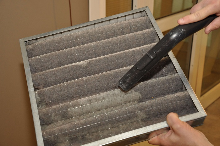 ductless heating and cooling systems filter