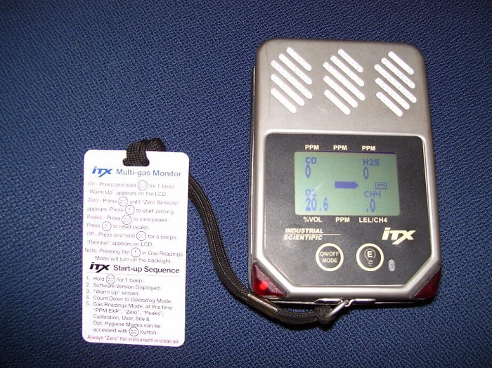 an example of a freon leak detector