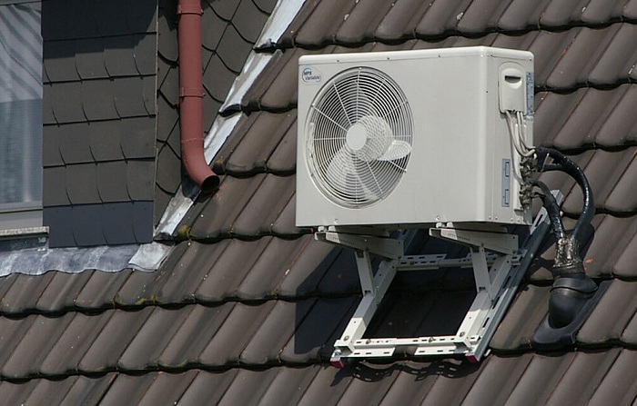 ductless heating and cooling systems - outdoors unit