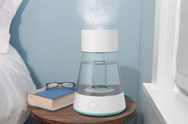 Humidifier On Night Table