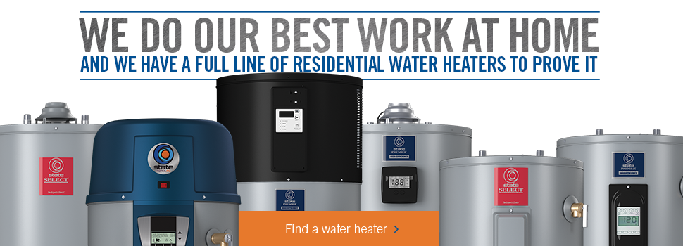 State Select Water Heater Lines