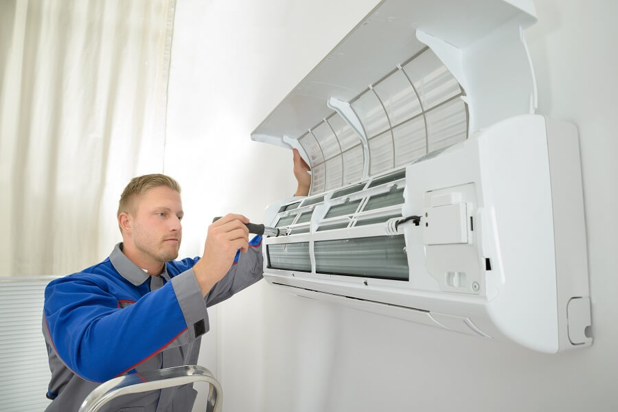 ductless air conditioner install