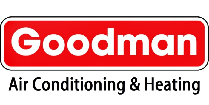 goodman air conditioning and heating logo wide