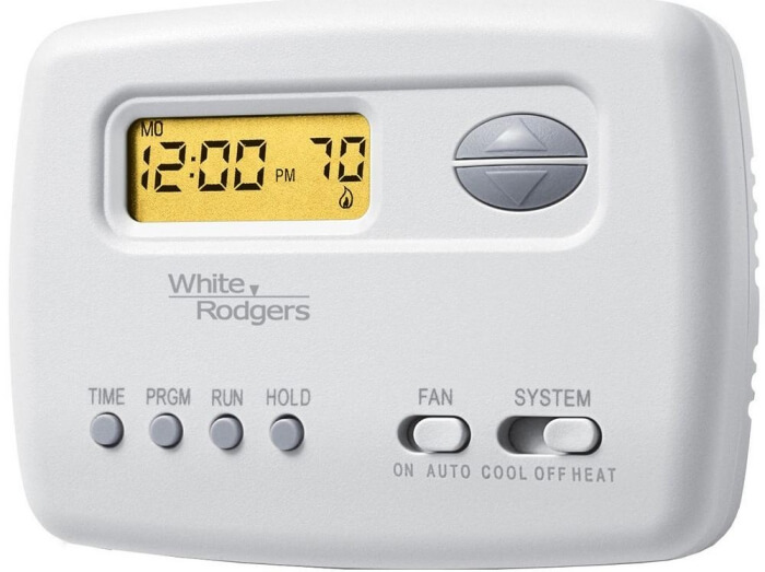 Bestech™ 2 heat/1 cool non-programmable thermostat.