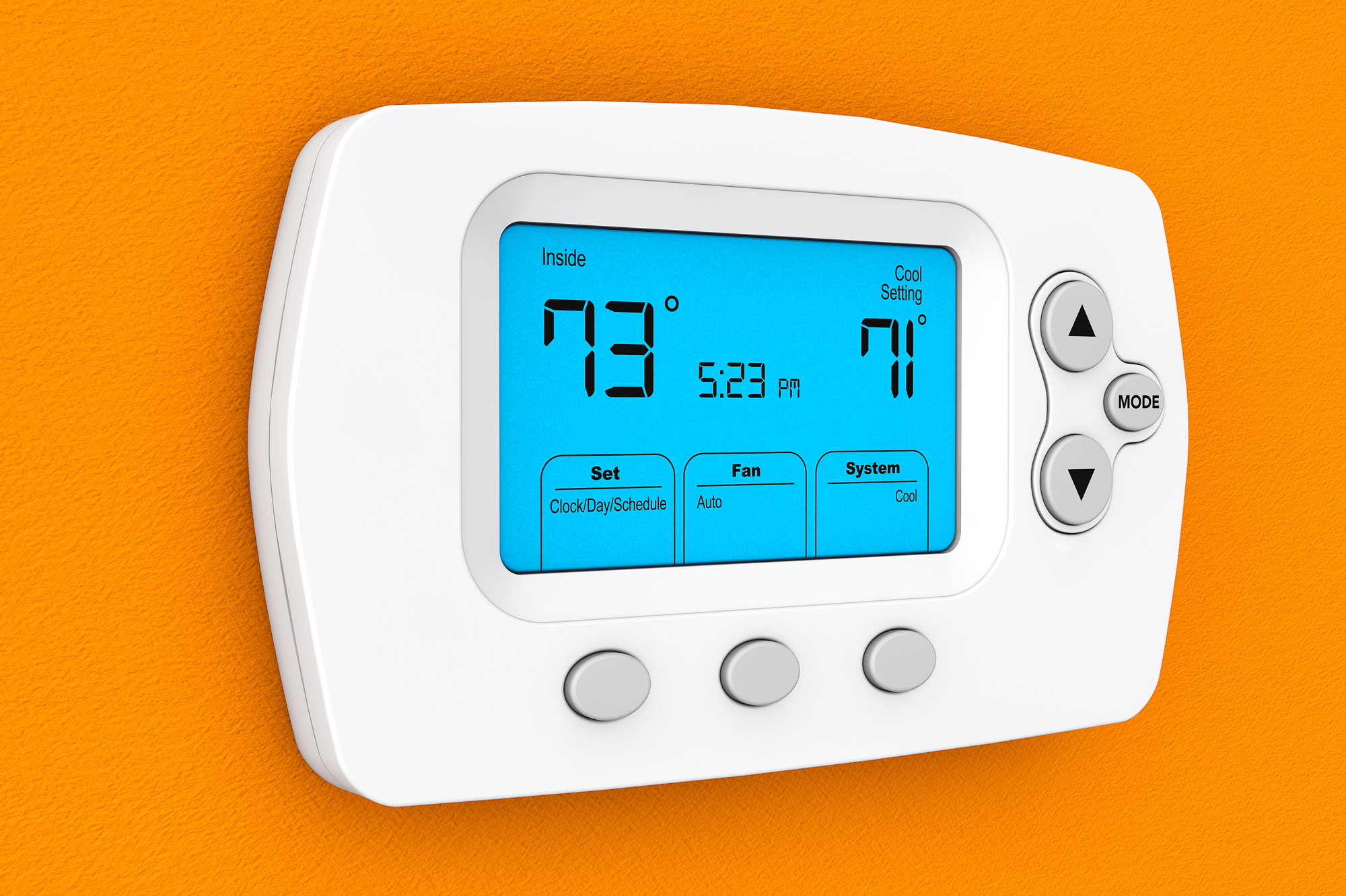 Lux Thermostat Program 7 day with selectable smart recovery universal compatability