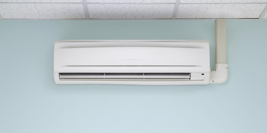 Split ductless air conditioners