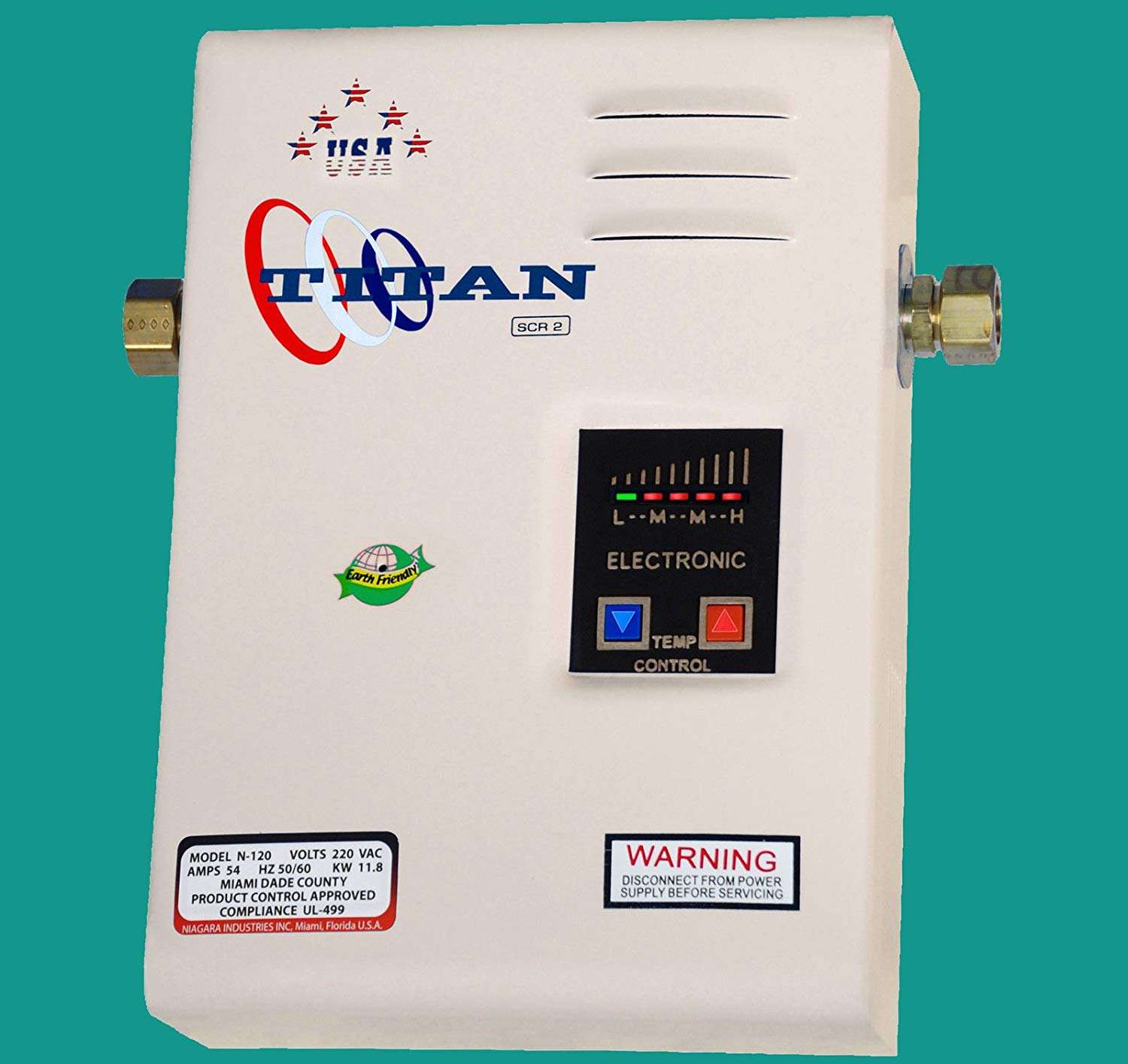 Titan water heater